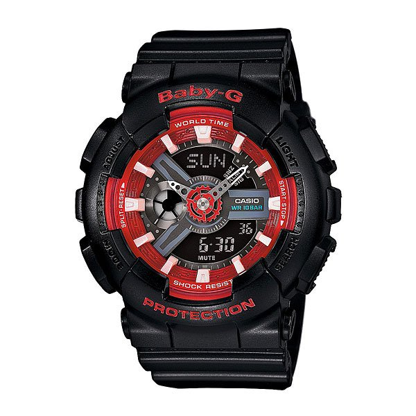 Часы детские Casio G-Shock Baby-g Ba-110sn-1a Black