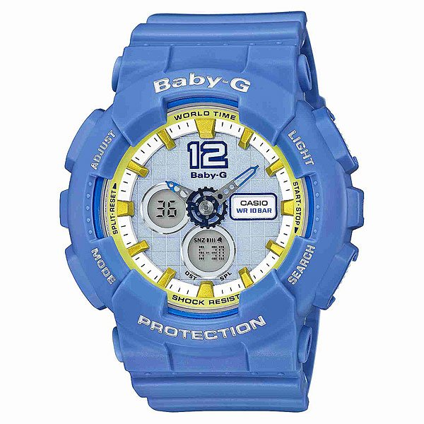 Часы детские Casio G-Shock Baby-G Ba-120-2B Purpule