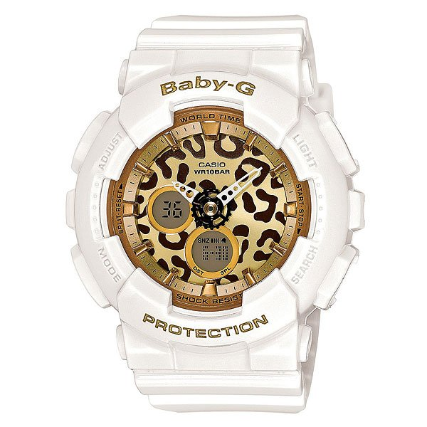 Часы детские Casio G-Shock Baby-G Ba-120Lp-7A2 White