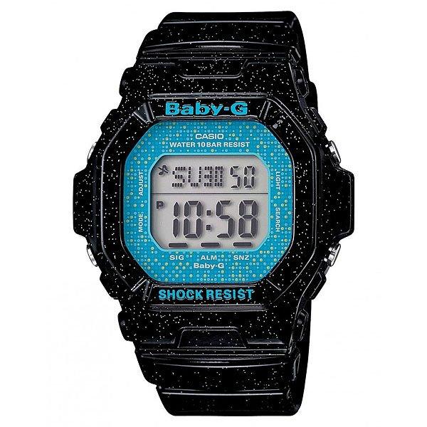 Часы детские Casio G-Shock Baby-G Bg-5600Gl-1E BlackСпортивные противоударные часы с оригинально оформленным ремешком понравтс девушкам, ведущим активный образ жизни.   Технические характеристики: Электролминесцентна подсветка освещает весь циферблат, после отпускани кнопки свечение продолжаетс еще некоторое врем.Ударопрочна конструкци защищает механизм от ударов и вибрации.Функци мирового времени.Функци секундомера - 1/100 сек. - 1 час. Таймер обратного отсчета от 1мин до 24ч. Сплит-хронограф. 5 ежедневных будильников.Функци повтора будильника.Функци вклчени/отклчени звука.Автоматический календарь.12/24-часовое отображение времени.Минеральное стекло.Корпус из полимерного пластика.Ремешок из полимерного материала.2 года - 1 аккумултор.Водонепроницаемость (10 Бар).Точность +/- 30 сек в месц.Тип батареи - SR726W x 2.<br><br>Цвет: черный<br>Тип: Электронные часы<br>Возраст: Детский