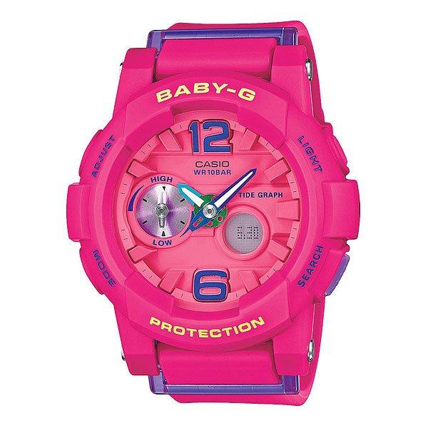 Часы женские Casio G-Shock Baby-G Bga-180-4B3 Pink casio g shock g classic ga 110mb 1a