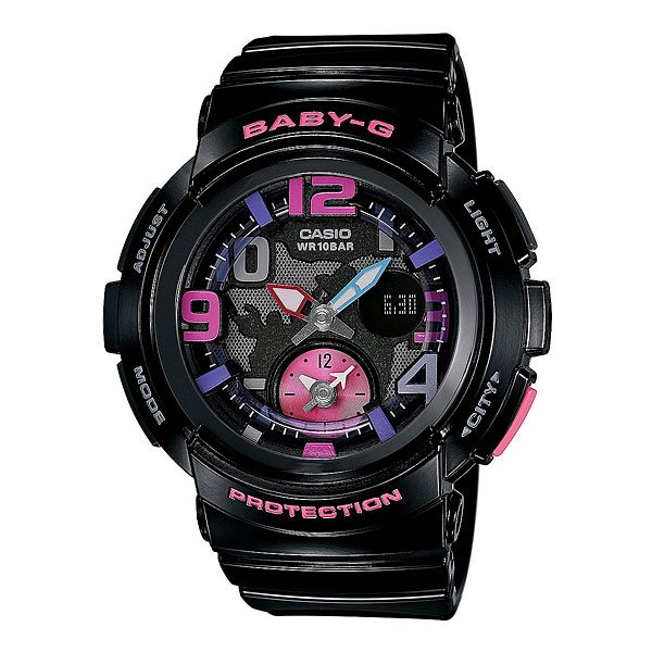 Часы детские Casio G-Shock Baby-G Bga-190-1B Black