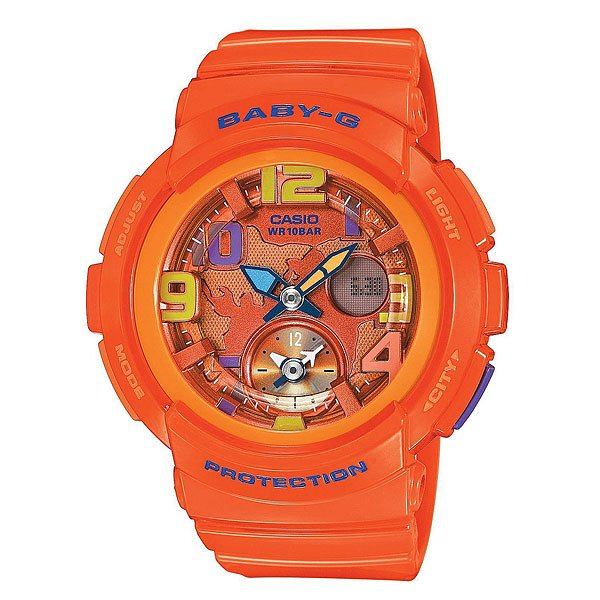 Часы детские Casio G-Shock Baby-G Bga-190-4B Orange