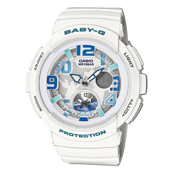 Часы детские Casio G-Shock Baby-G Bga-190-7B White