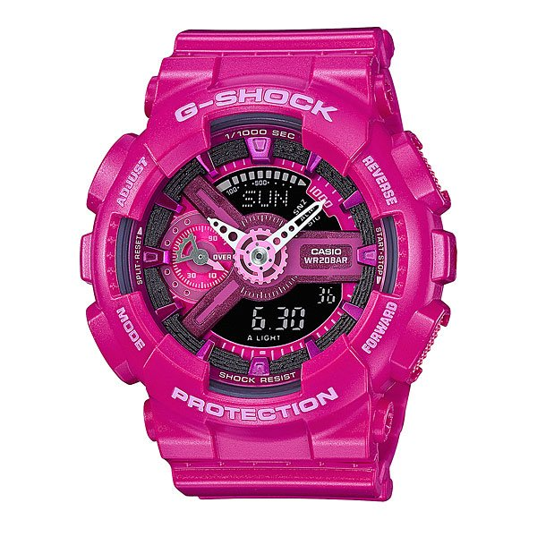 Часы женские Casio G-Shock Gma-S110Mp-4A3 Pink casio часы casio gma s110mc 6a коллекция g shock