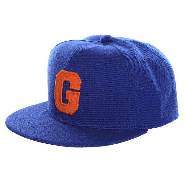Бейсболка с прямым козырьком TrueSpin Abc Royal G<br><br>Цвет: синий<br>Тип: Бейсболка с прямым козырьком<br>Возраст: Взрослый