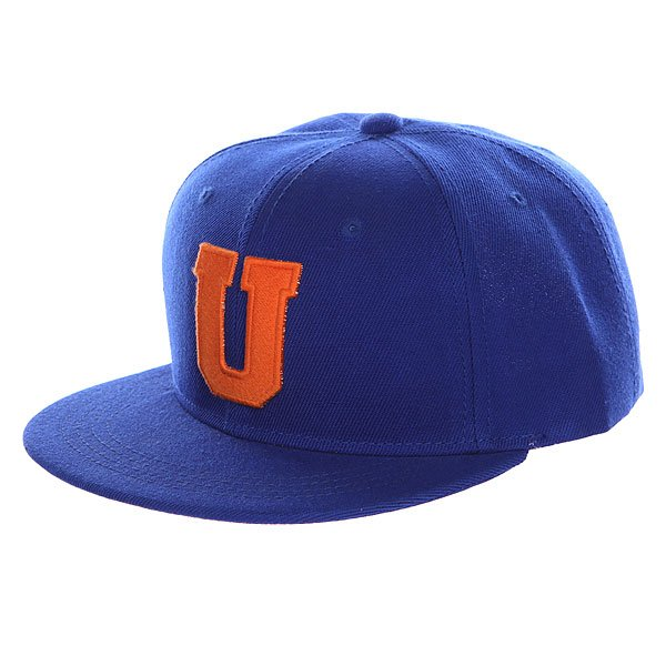 Бейсболка с прямым козырьком TrueSpin Abc Royal U<br><br>Цвет: синий<br>Тип: Бейсболка с прямым козырьком<br>Возраст: Взрослый