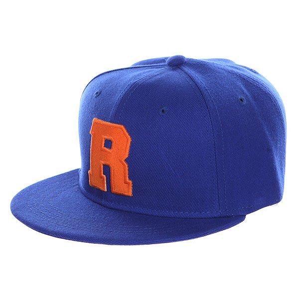 Бейсболка с прямым козырьком TrueSpin Abc Royal R<br><br>Цвет: синий<br>Тип: Бейсболка с прямым козырьком<br>Возраст: Взрослый