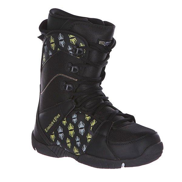 Ботинки для сноуборда Limited4You Thirteen True Black заклепочник усиленный gross 40409