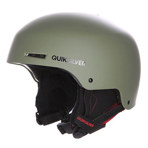 Шлем для сноуборда Quiksilver Axis SeagrassНовая модель сноубордического шлема - еще более технологичнее, оригинальнее!  Преимущества:   Двойной микрошелл.  Амортизирующий пенный наполнитель EPS.  Регулируемая фронтальная вентиляция и отдельные продольные воздушные каналы.  Подкладка из сетки и флиса для максимального тепла и комфорта.  Вес &amp;ndash; 550 грамм.<br><br>Цвет: зеленый<br>Тип: Шлем для сноуборда<br>Возраст: Взрослый<br>Пол: Мужской