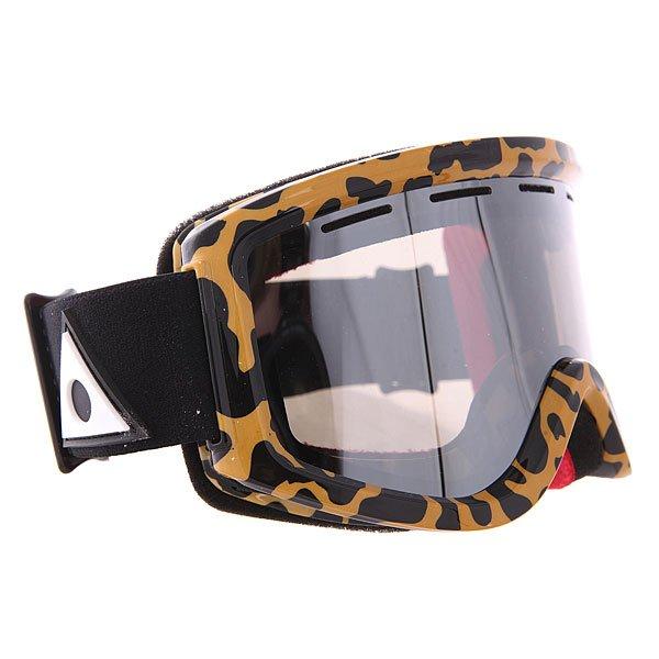 Маска для сноуборда Ashbury Warlock Leopard