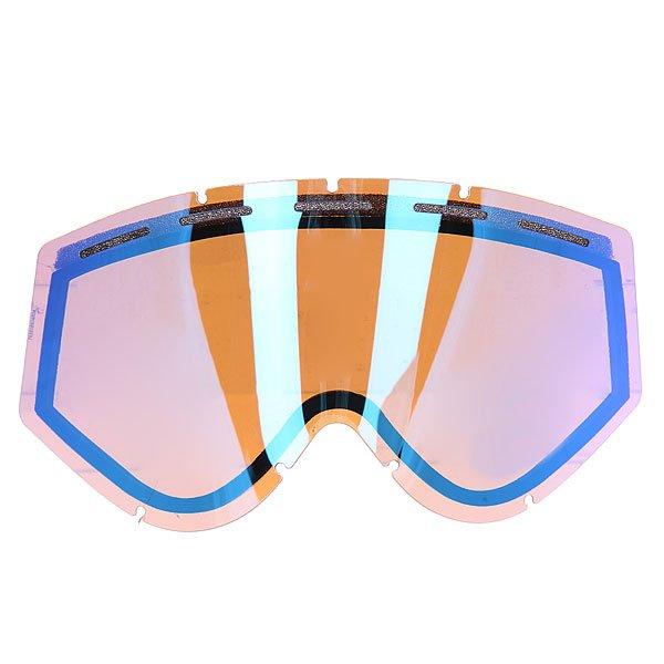 Линза для маски Ashbury Kaleidoscope Lens Blue MirrorМиссия бренда оптики для катания Ashbury определяется ими самими как «создание линейки модной и функциональной оптики, вдохновение для которой черпается в скейтбординге, сноубординге, музыке и моде».  Все очки и маски бренда производятся вручную в Италии, причем высокий класс сборки делает их продукт гордостью его обладателя.                                                                                                                   Технические характеристики: Устойчивая к царапинам двойная сферическая линза на 100% защищает от ультрафиолетового излучения (блокирует вредное UVA, UVB, UVC излучение, а также ультрафиолетовое излучение до 400 NM).Перфорация в верхней части линзы для вентиляции.Антизапотевающее двойное покрытие anti-fog.<br><br>Цвет: коричневый,синий<br>Тип: Линза для маски<br>Возраст: Взрослый<br>Пол: Мужской
