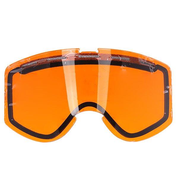 Линза для маски Ashbury Warlock Lens OrangeМиссия бренда оптики для катания Ashbury определяется ими самими как «создание линейки модной и функциональной оптики, вдохновение для которой черпается в скейтбординге, сноубординге, музыке и моде».  Все очки и маски бренда производятся вручную в Италии, причем высокий класс сборки делает их продукт гордостью его обладателя.                                                                                                                   Технические характеристики: Устойчивая к царапинам двойная сферическая линза на 100% защищает от ультрафиолетового излучения (блокирует вредное UVA, UVB, UVC излучение, а также ультрафиолетовое излучение до 400 NM).Перфорация в верхней части линзы для вентиляции.Антизапотевающее двойное покрытие anti-fog.<br><br>Цвет: оранжевый<br>Тип: Линза для маски<br>Возраст: Взрослый<br>Пол: Мужской