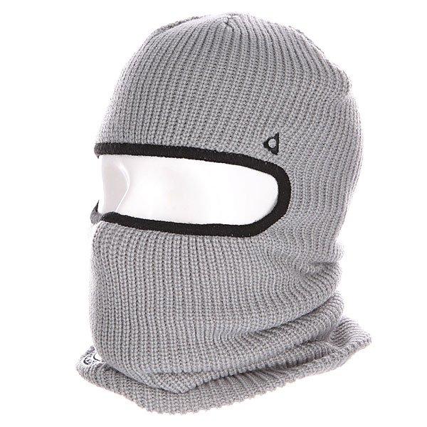 Балаклава Ashbury Facemask Grey<br><br>Цвет: серый<br>Тип: Балаклава<br>Возраст: Взрослый
