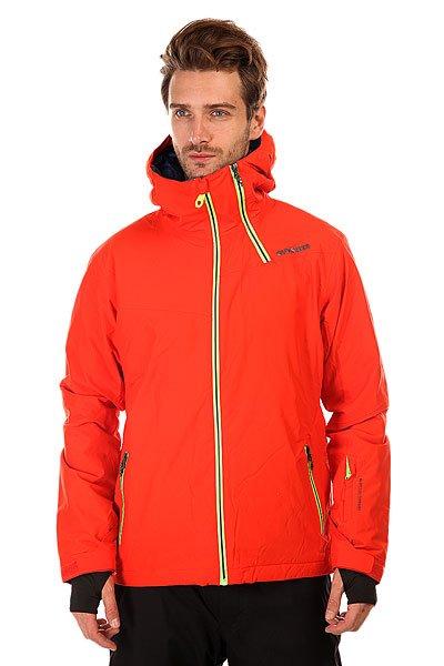Куртка Quiksilver Zone PoincianaПолучайте наслаждение от катания в новой куртке для сноубординга! <br>Преимущества: <br><br>Отличная мембрана 15K (15000 мм), которая защитит от проникновения воды.<br>Куртка выполнена с применением &amp;nbsp;технологии Dry Flight, благодаря которой ткань не пропускает воду внутрь и отлично дышит.<br>Вентиляционные отверстия на молниях позволяют регулировать температуру.<br><br>Остальные преимущества: <br><br>Снегозащитная юбка.<br>Специальный карман для маски.<br>Фиксация капюшона по высоте.<br>Возможность регулировки низа куртки специальным шнуром.<br>Vent -удобные вентиляционные отверстия на молниях в области подмышек.<br>Fully Taped Seams &amp;ndash; все швы проклеены.<br>Высокотехнологичный утеплитель - 3M&amp;trade; Thinsulate&amp;trade; Type M&amp;trade; 80g (тело), 60g (капюшон и рукава).<br><br>Цвет: оранжевый<br>Тип: Куртка утепленная<br>Возраст: Взрослый<br>Пол: Мужской