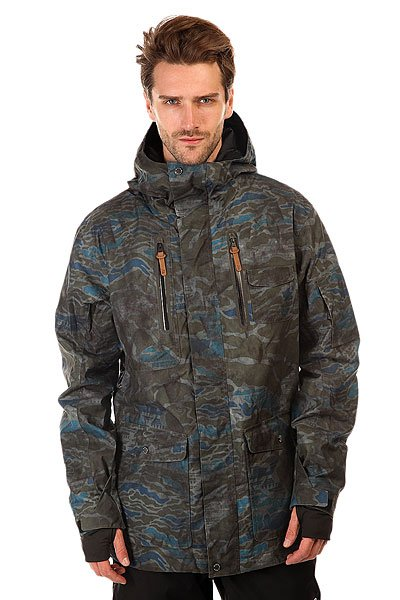 ������ Quiksilver Dark Stormy Space Reflector Army