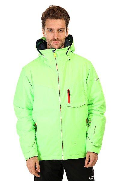 Куртка Quiksilver Mission Plus Green GeckoМужская сноубордическая куртка Mission Plus из новой сноубордической коллекции Snow Everyday. Современный утеплитель Polyfill обеспечит тепло и комфортное катание в течении всего дня.  Можете быть уверены что снег, ветер и непогода не помешают Вам получить максимум удовольствия от катания.  Технические характеристики: Подкладка -  влаговыводящая тафта.Водонепроницаемая мембрана Dry Flight 10K(10 000 мм/10 000г).Критические швы проклеены.Высокий воротник-стойка.Защита подбородка от натирания молнией из микрофибры.Нагрудный карман на молнии.Два боковых кармана на молнии.Потайной карман.Сеточная вентиляция.Карман для скипасса.Карман для маски.Система крепления штанов к куртке.Фиксированная противоснежная юбка из синтетической тафты.Регулируемые манжеты на липучках.Лайкровые манжеты.Подол с утяжкой.Застежка - молния.Фасон - узкий (slim fit).<br><br>Цвет: зеленый<br>Тип: Куртка утепленная<br>Возраст: Взрослый<br>Пол: Мужской