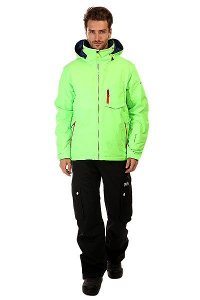 Куртка Quiksilver Mission Plus Green Gecko от Proskater