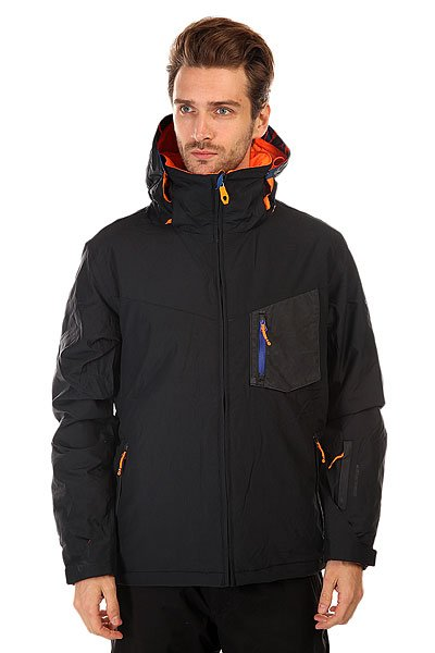 Куртка Quiksilver Mission Plus An Black