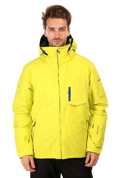 Куртка Quiksilver Mission Plus Sulphur SpringМужская сноубордическая куртка Mission Plus из новой сноубордической коллекции Snow Everyday. Современный утеплитель Polyfill обеспечит тепло и комфортное катание в течении всего дня.  Можете быть уверены что снег, ветер и непогода не помешают Вам получить максимум удовольствия от катания.  Технические характеристики: Подкладка -  влаговыводящая тафта.Водонепроницаемая мембрана Dry Flight 10K(10 000 мм/10 000г).Критические швы проклеены.Высокий воротник-стойка.Защита подбородка от натирания молнией из микрофибры.Нагрудный карман на молнии.Два боковых кармана на молнии.Потайной карман.Сеточная вентиляция.Карман для скипасса.Карман для маски.Система крепления штанов к куртке.Фиксированная противоснежная юбка из синтетической тафты.Регулируемые манжеты на липучках.Лайкровые манжеты.Подол с утяжкой.Застежка - молния.Фасон - узкий (slim fit).<br><br>Цвет: желтый<br>Тип: Куртка утепленная<br>Возраст: Взрослый<br>Пол: Мужской