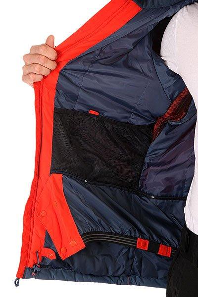 Куртка Quiksilver Mission Block Poinciana от Proskater