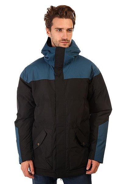 Куртка DC Impossible AnthraciteВысокотехнологичная катальная теплая куртка! <br>Преимущества: <br><br>Отличная мембрана Exotex &amp;nbsp;10К (10000 мм), которая защитит от проникновения воды.<br>Вентиляционные отверстия на молниях позволяют регулировать температуру.<br><br>Остальные преимущества: <br><br>Ветрозащитный клапан.<br>Металлические молнии.<br>Фиксация капюшона по ширине.<br>Все швы проклеены.<br>Высокотехнологичный утеплитель - 3M™ Thinsulate™ Type M™ 400 гр.<br><br>Куртка DC Impossible из прочного теплого материала не даст Вам замерзнуть даже в самые холодные зимние дни. Влагостойкая ткань Exotex препятствует промоканию куртки, а 400 г утеплителя и подкладка из тафты сохраняют тепло. Качественная куртка, готовая к любым погодным условиям. Коллекция City Series.<br>Технические характеристики: Подкладка - тафта..Высокий воротник стойка.Фиксированный капюшон с регулировкой.Карманы для рук на молнии и кнопках.Потайной карман на молнии.Застежка - молния и кнопки.Парусиновая нашивка на рукаве.Фасон - стандартный (regular fit).<br><br>Цвет: черный,синий<br>Тип: Куртка утепленная<br>Возраст: Взрослый<br>Пол: Мужской