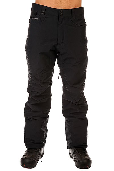Штаны сноубордические Quiksilver State Pant Black