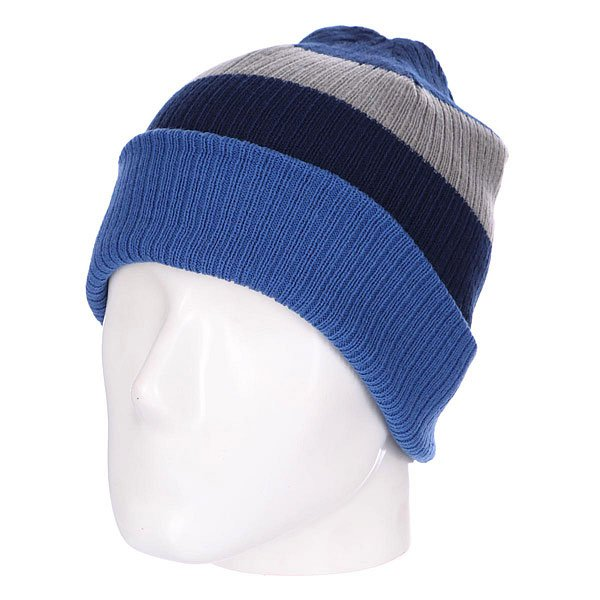 Шапка Billabong Slice Reversible Beanie Cobalt шапка kini red bull reversible beanie  серый