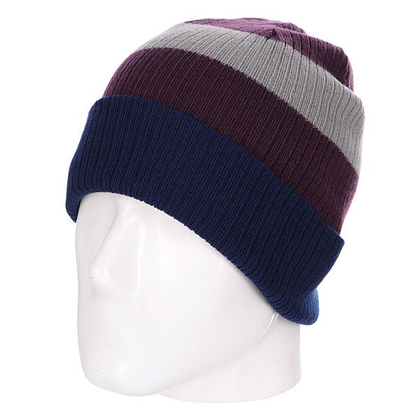 Шапка Billabong Slice Reversible Beanie Port шапка kini red bull reversible beanie  серый
