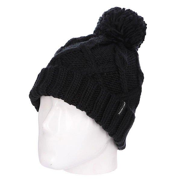Шапка женская Billabong Sweet Snow Off Black<br><br>Цвет: черный<br>Тип: Шапка<br>Возраст: Взрослый<br>Пол: Женский