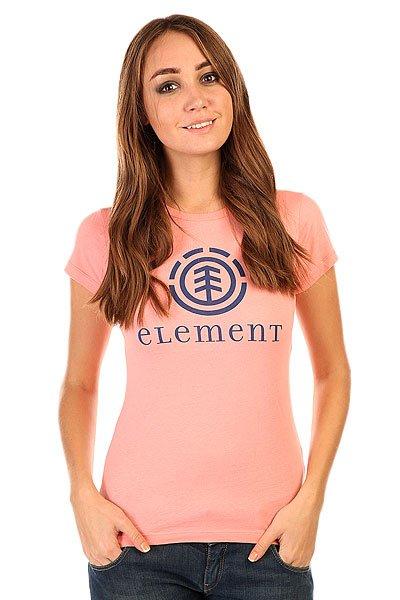 Футболка женская Element Logo Sscn Melrose