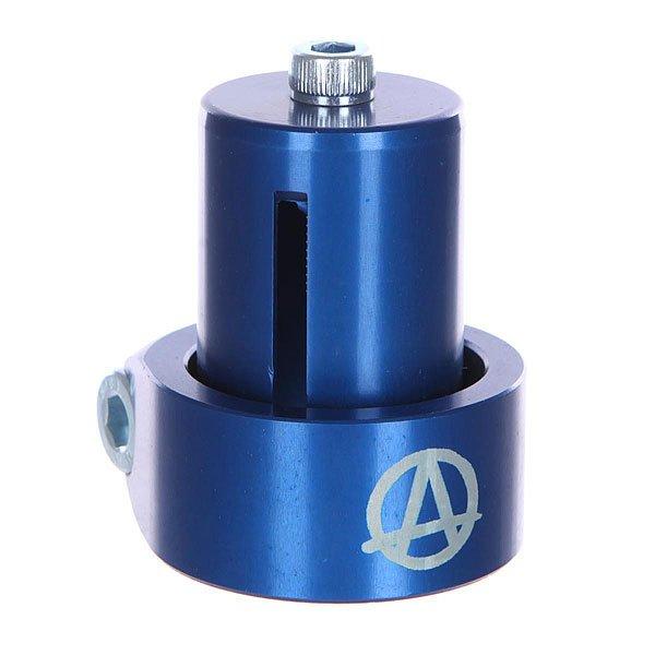 Зажимы Apex Hic Mono Kit Blue рулевая apex bol bars hic chrome