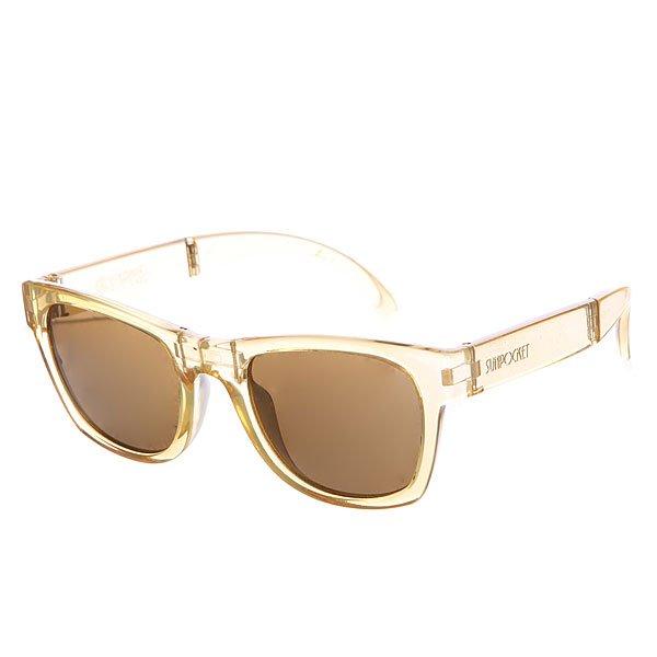 Очки Sunpocket Tobago Crystal Gold<br><br>Цвет: желтый<br>Тип: Очки<br>Возраст: Взрослый<br>Пол: Мужской