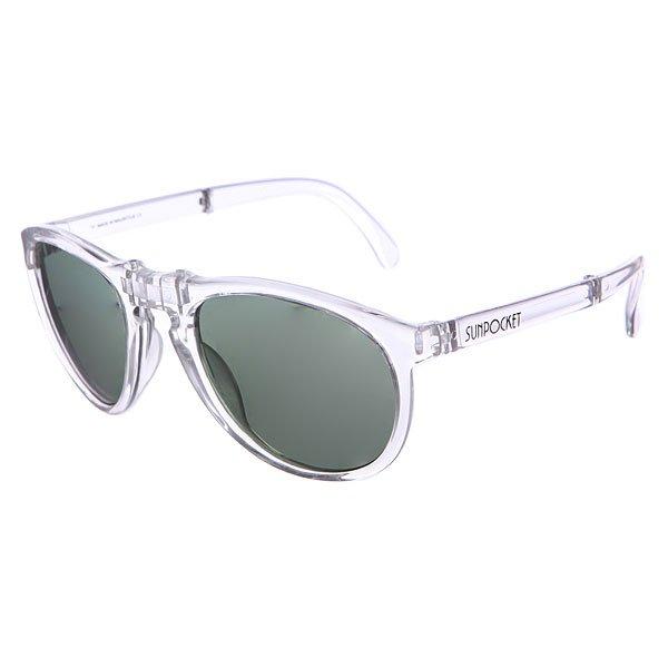 Очки Sunpocket Ii Shiny Crystal<br><br>Цвет: белый<br>Тип: Очки<br>Возраст: Взрослый<br>Пол: Мужской