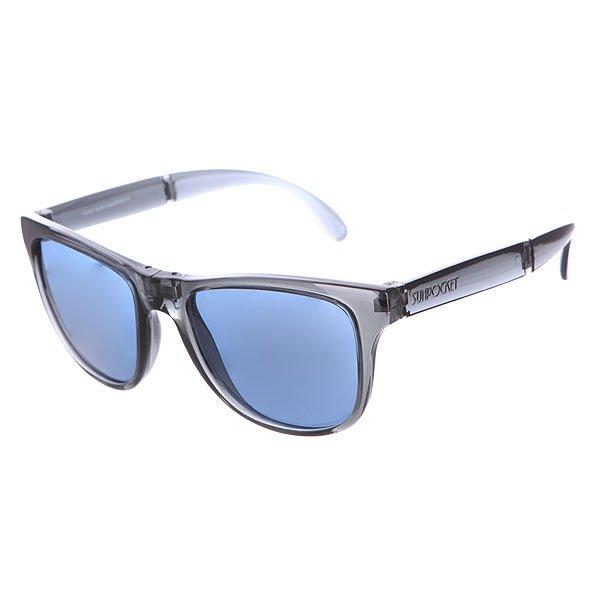 Очки Sunpocket Kauai Crystal Black<br><br>Цвет: черный<br>Тип: Очки<br>Возраст: Взрослый<br>Пол: Мужской