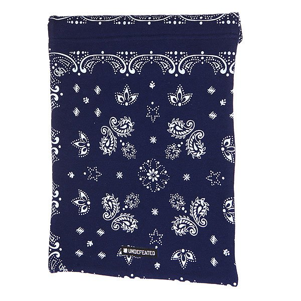 Чехол для iPad Undefeated Bandana Laptop Sleeve Navy