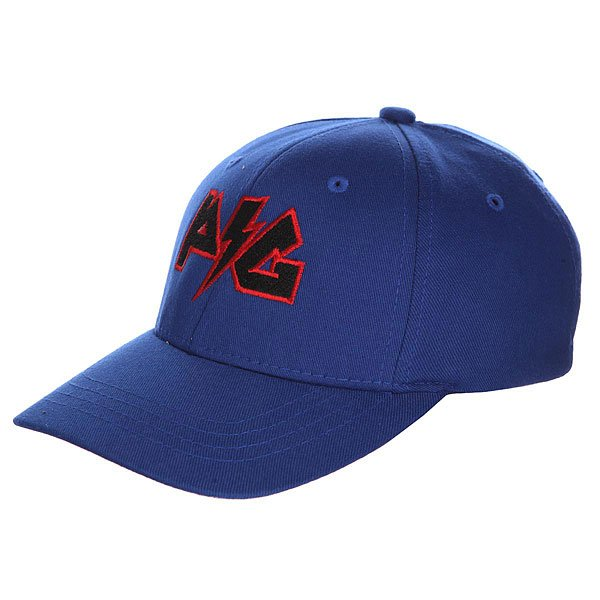 Бейсболка классическая детская Pig Lightning Cap Blue<br><br>Цвет: синий<br>Тип: Бейсболка классическая<br>Возраст: Детский