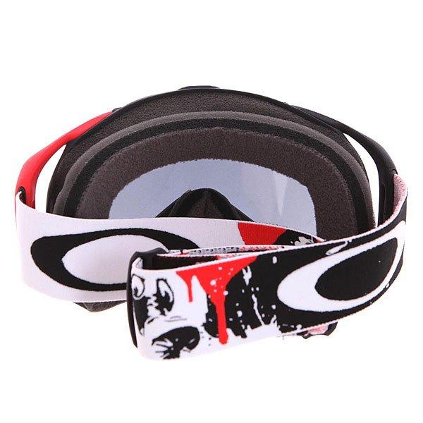 Маска для сноуборда Oakley Splice Simon Dumont Signature Black/Red от Proskater