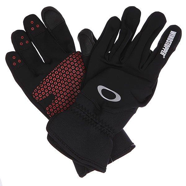 Перчатки сноубордические Oakley Core Windstopper Glove Black от Proskater