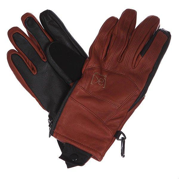 Перчатки сноубордические Burton Ak Lthr Tech Glv Burndt Brown<br><br>Цвет: коричневый,черный<br>Тип: Перчатки сноубордические<br>Возраст: Взрослый<br>Пол: Мужской