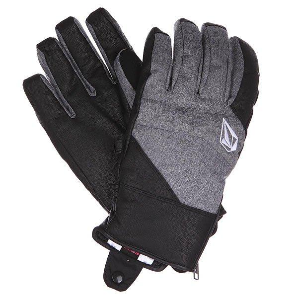 Перчатки сноубордические Volcom Knife Chutes Glove Heather Grey от Proskater