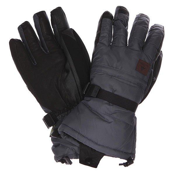 Перчатки сноубордические Burton Mb Warmest Glove Bog Grey/Black<br><br>Цвет: серый,черный<br>Тип: Перчатки сноубордические<br>Возраст: Взрослый<br>Пол: Мужской