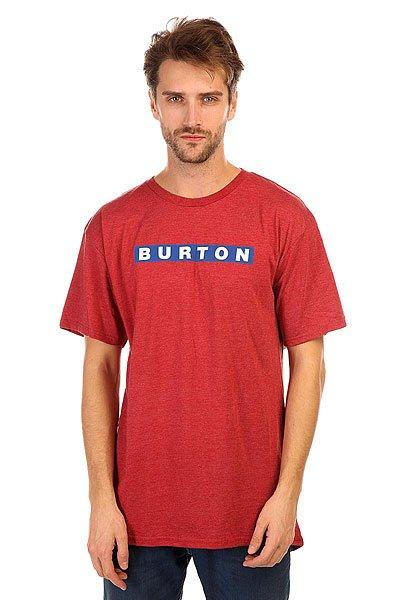 Футболка Burton Mb Vault Rpet Chili Pepper Heather<br><br>Цвет: бордовый<br>Тип: Футболка<br>Возраст: Взрослый<br>Пол: Мужской