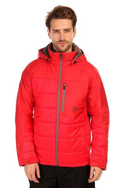Куртка Burton Ak Vt Jacket Mo FiyaМужская куртку Burton Ak Vt Jacket Вы можете носить вместо пиджака в морозные дни, а можете отправиться на покорение вершин! Удобный фасон, а также отстегивающийся капюшон, делают эту куртку универсальным предметом гардероба.Технические характеристики: Мембрана DryRideDurashell.Подкладка из тафты.Проклеенные швы.Воротник-стойка.Капюшон с регулировкой.Нагрудный медиакарман на молнии.Карманы для рук на молнии.Вентиляционные отверстия на молнии.Подол с утяжкой.Регулируемые манжеты на липучках.Застежка - молния.Фасон стандартный (Regular Fit).<br><br>Цвет: красный<br>Тип: Куртка утепленная<br>Возраст: Взрослый<br>Пол: Мужской