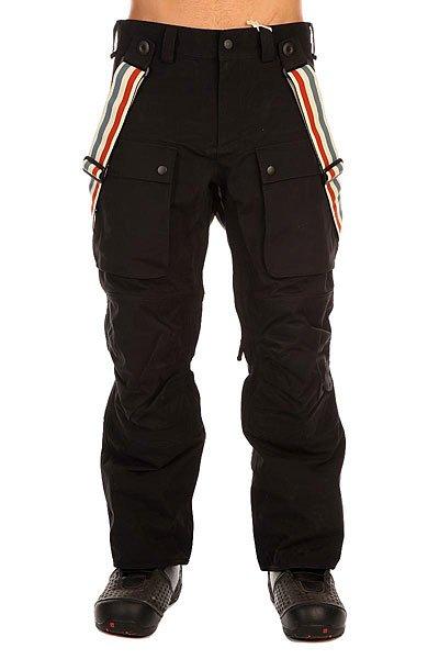 Штаны сноубордические Burton Hrtg Suspender Pt True Black