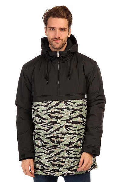 Анорак TrueSpin Fishtail Anorak Black/Camo