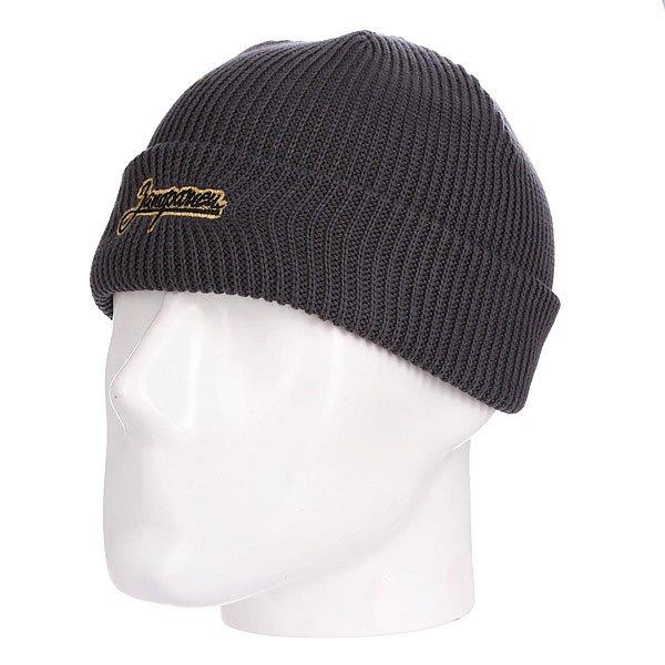 Шапка детская Запорожец Kids Dark GreyДетская шапка от российского бренда Запорожец, вдохновлённого советским наследием и современной российской эстетикой. Натуральный хлопок, классическая форма с отворотом, приятная фактура.Технические характеристики: Мелкая вязка.Отворот с текстильным логотипом и вышивкой.Классическая форма.<br><br>Цвет: серый<br>Тип: Шапка<br>Возраст: Детский