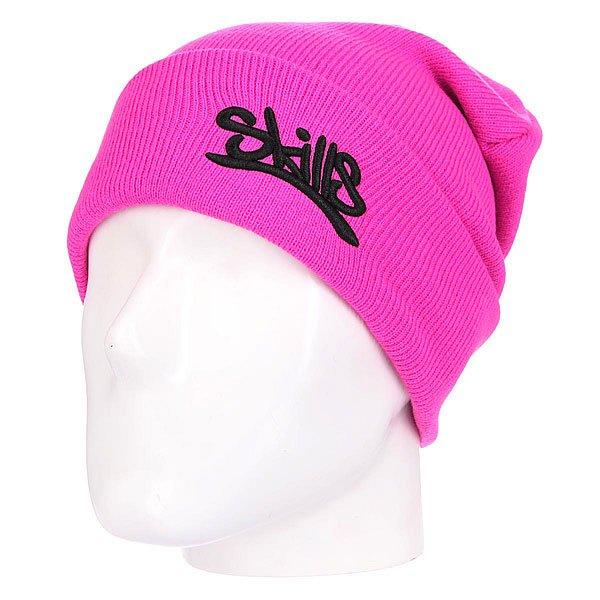 Шапка Skills 001 Bright PinkШапка Skills  - мастхэв любого гардероба. Не дай себе замерзнуть!Характеристики:Изготовлена из 100% акрила. Широкий отворот. Вышитый логотип на лицевой части.<br><br>Цвет: розовый<br>Тип: Шапка<br>Возраст: Взрослый<br>Пол: Мужской