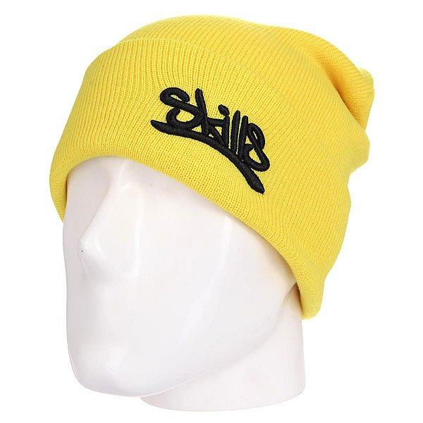 Шапка Skills 001 YellowШапка Skills  - мастхэв любого гардероба. Не дай себе замерзнуть!Характеристики:Изготовлена из 100% акрила. Широкий отворот. Вышитый логотип на лицевой части.<br><br>Цвет: желтый<br>Тип: Шапка<br>Возраст: Взрослый<br>Пол: Мужской