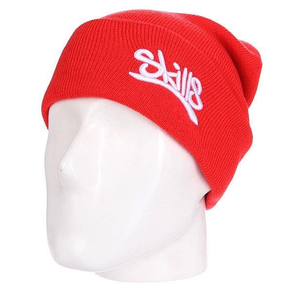 Шапка Skills 001 RedШапка Skills  - мастхэв любого гардероба. Не дай себе замерзнуть!Характеристики:Изготовлена из 100% акрила. Широкий отворот. Вышитый логотип на лицевой части.<br><br>Цвет: красный<br>Тип: Шапка<br>Возраст: Взрослый<br>Пол: Мужской